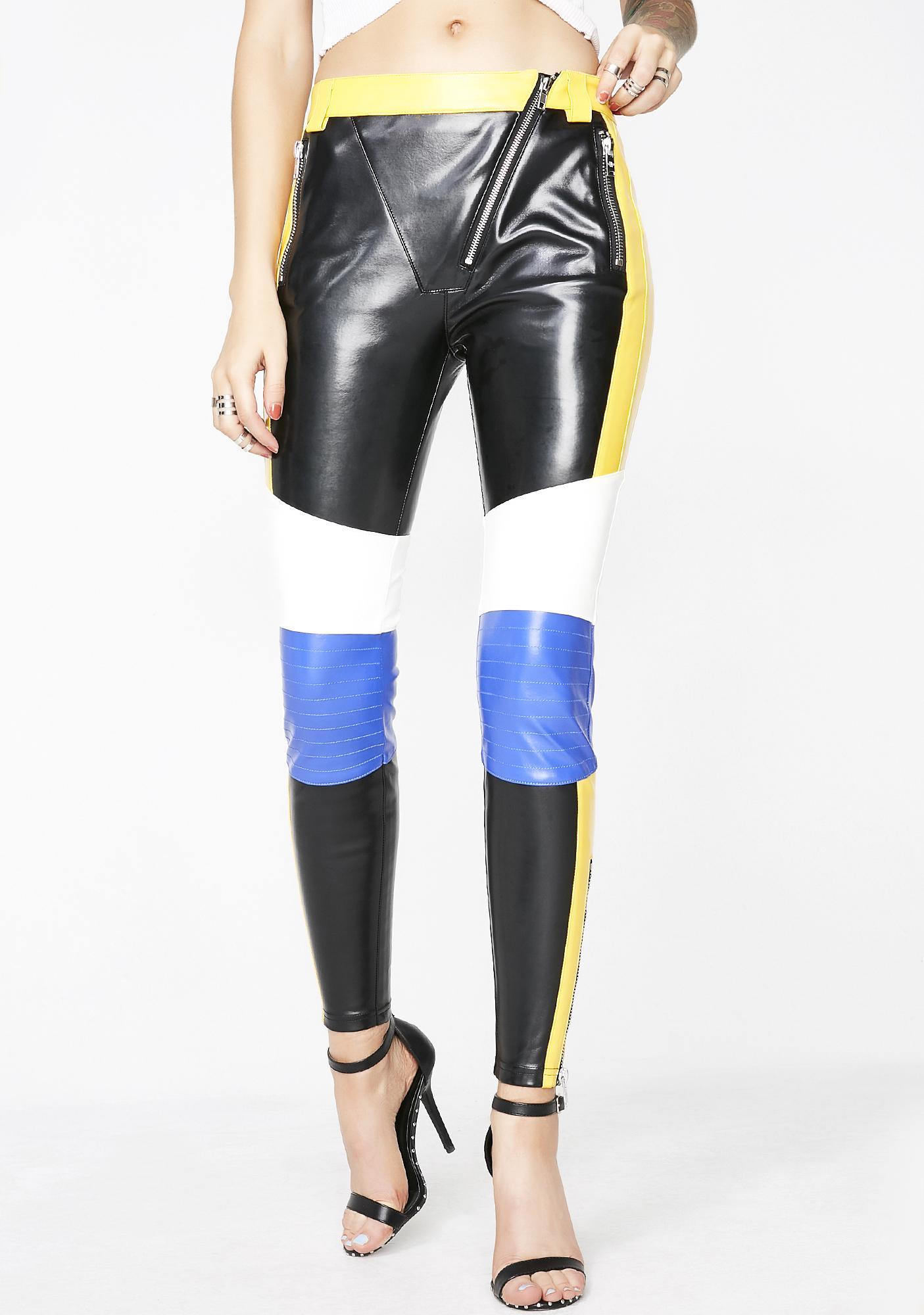 Current Mood Motor Speedway Moto Pants