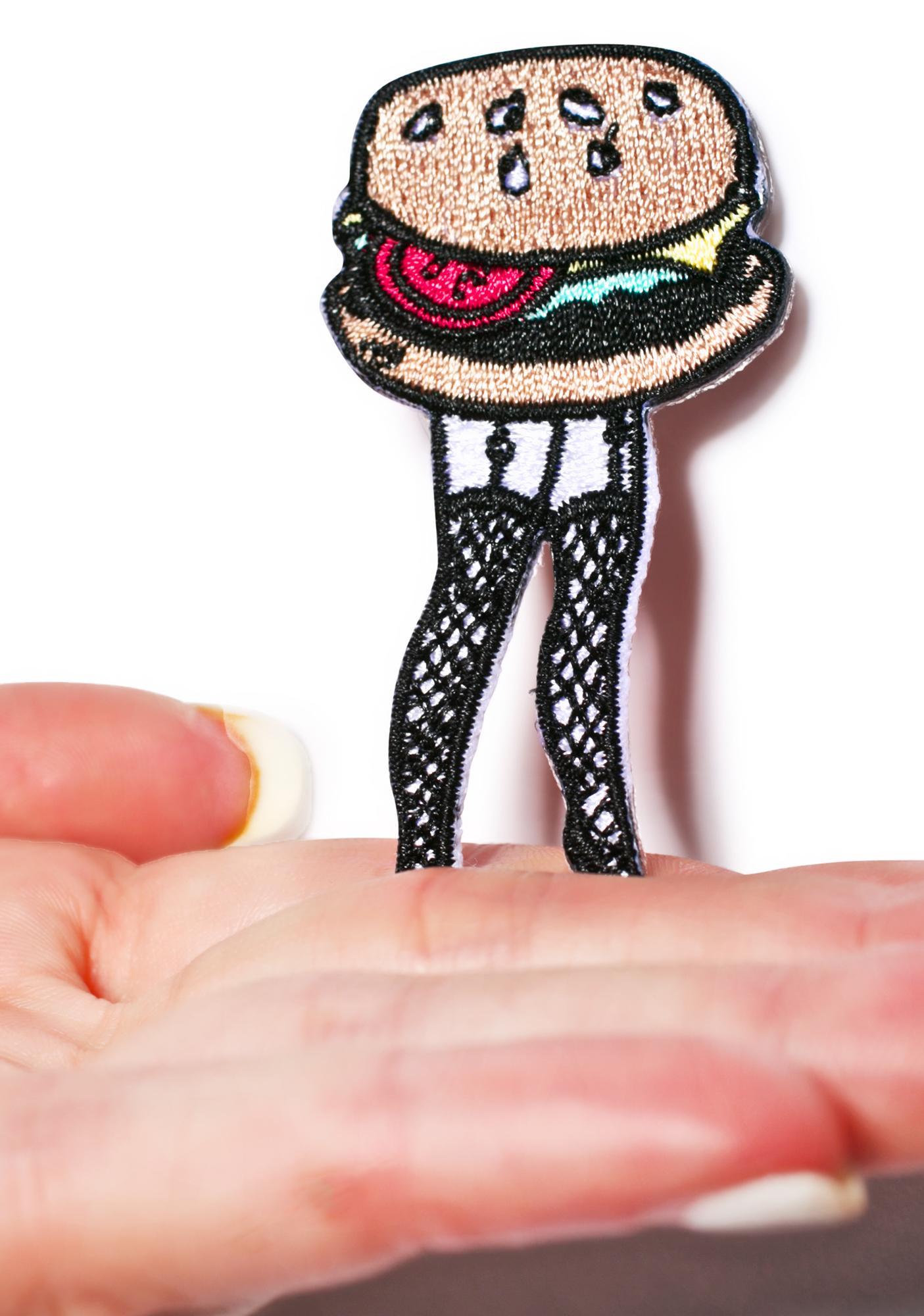 Valfré Cheeseburger Legs Patch