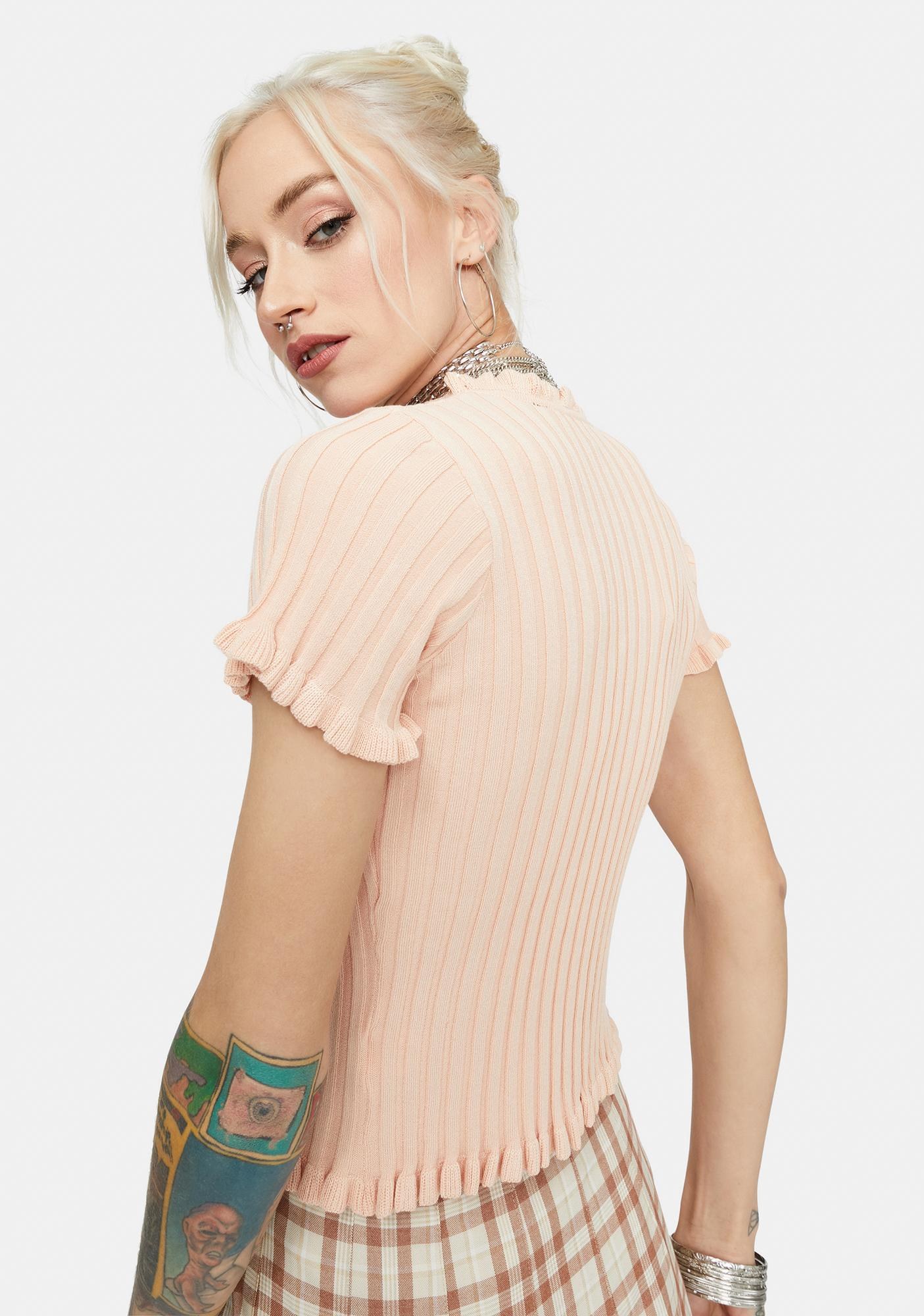Soft Figure It Out Ribbed Cardigan