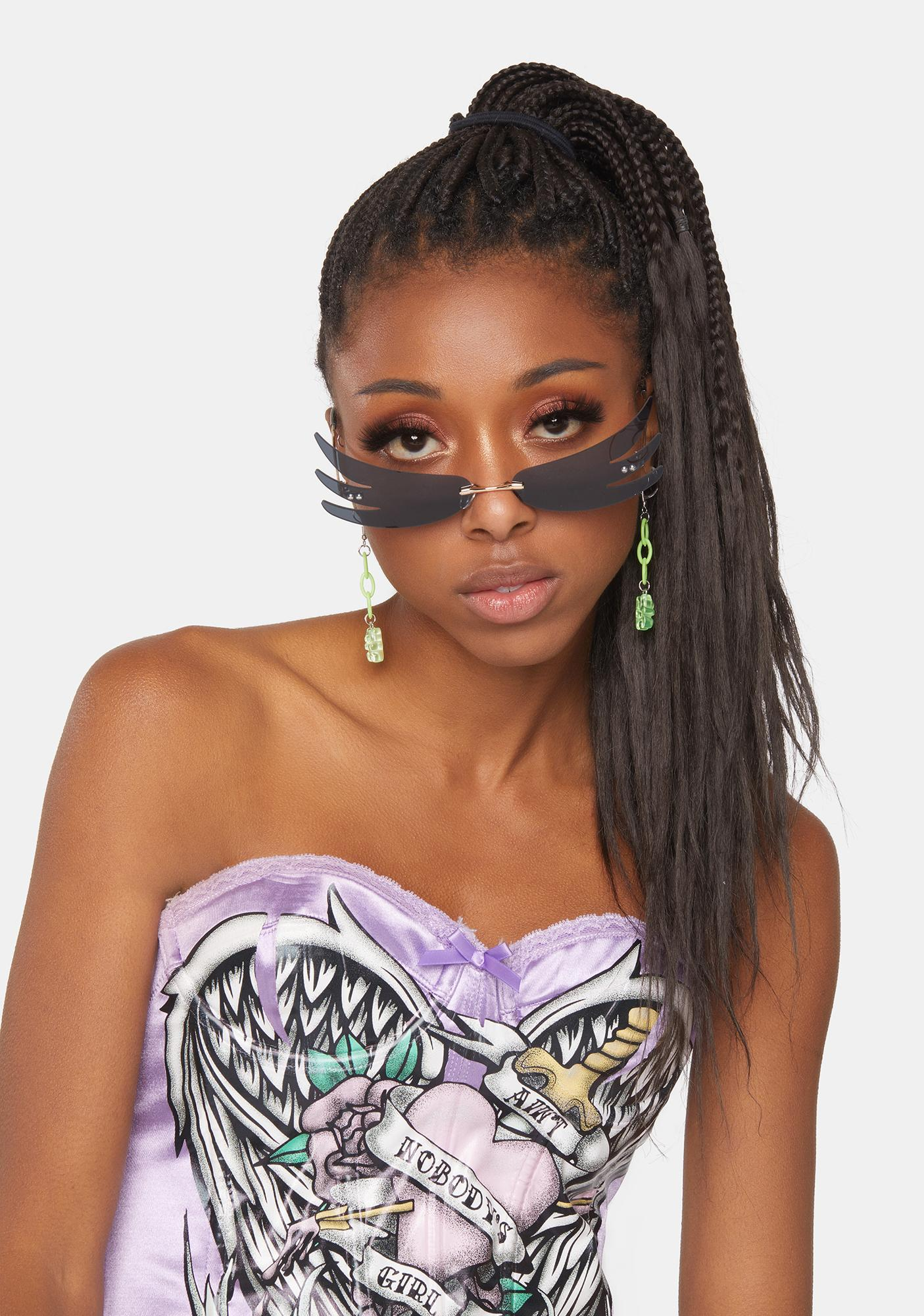 Night Above The Clouds Wing Sunglasses