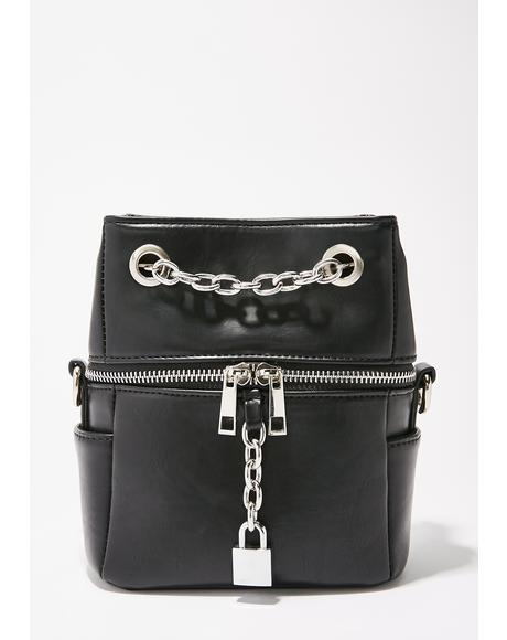 Chain Breaker Drawstring Bag