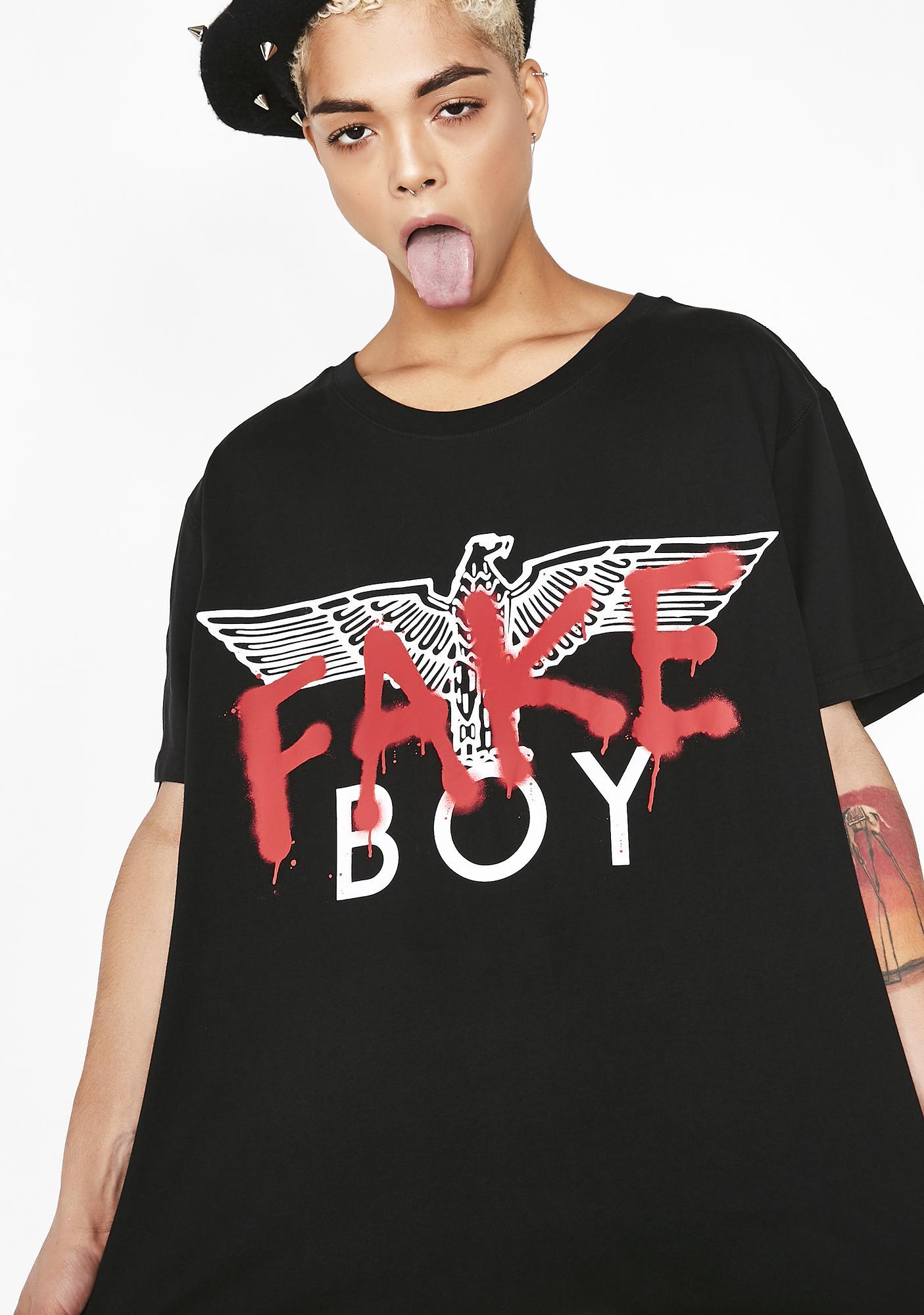 990021339359 BOY London Boy Fake Tee