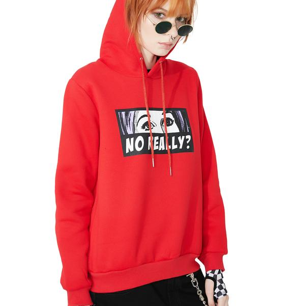 Glamorous No Really Pullover Hoodie