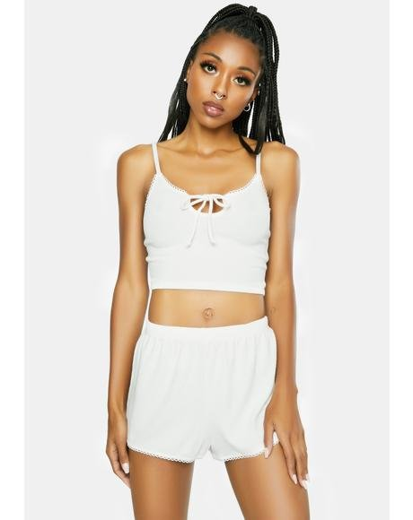 White Day Drifter Lounge Shorts