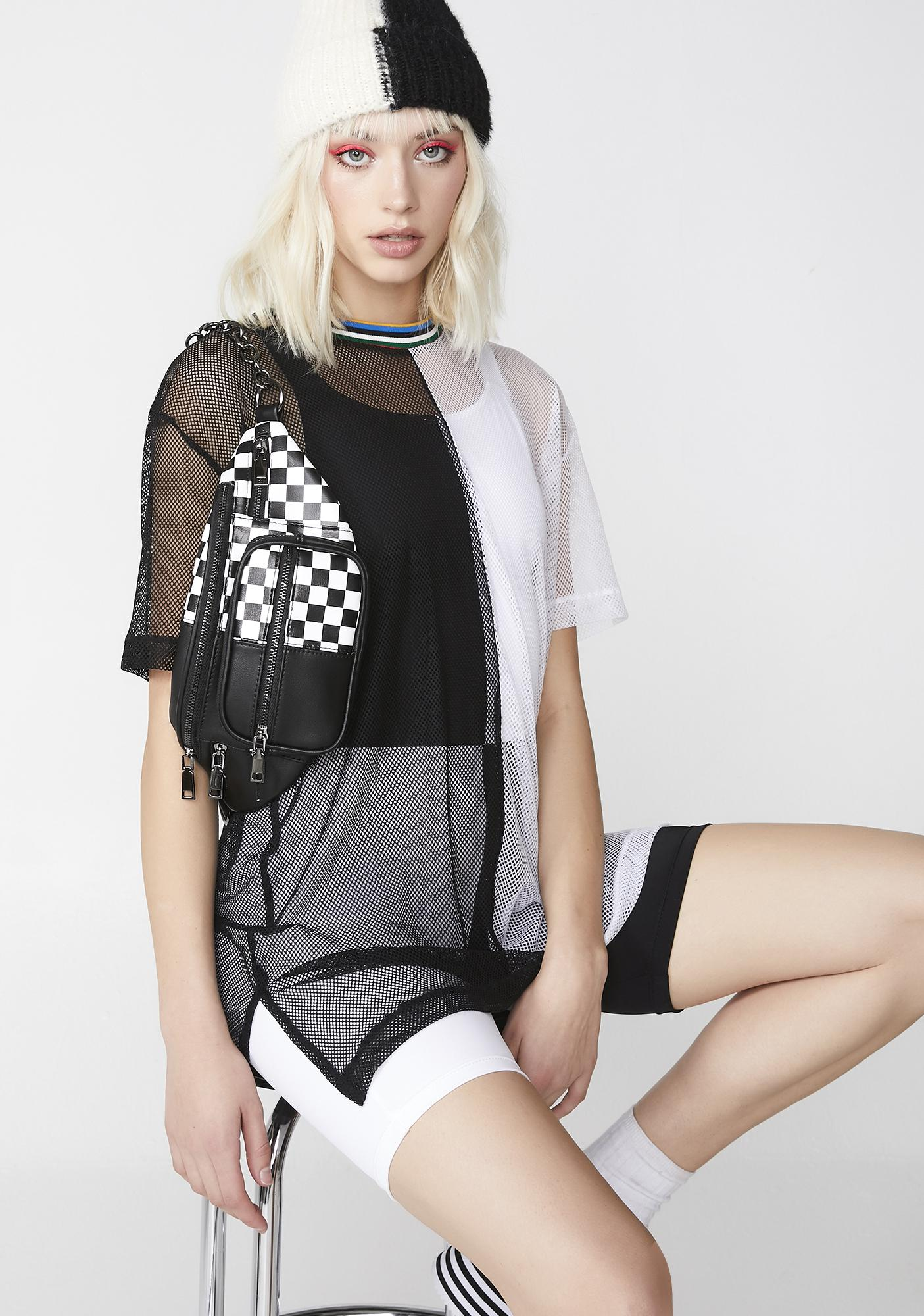 Cute Mistake Inside Out T-Shirt Dress