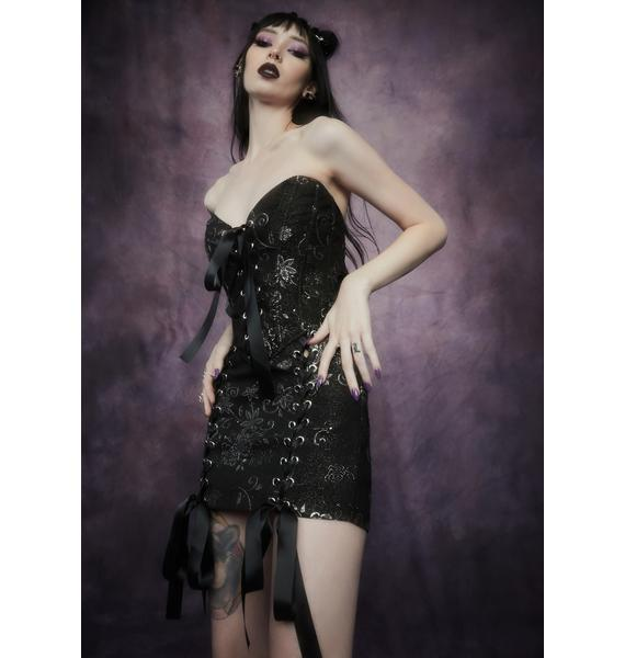 Widow Night Music Brocade Skirt