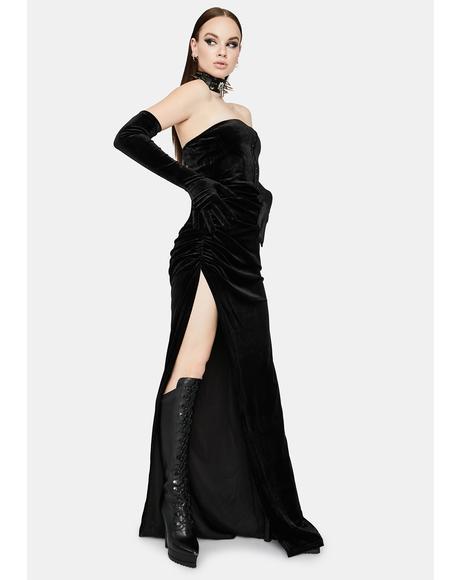 Elegant Heiress Maxi Dress