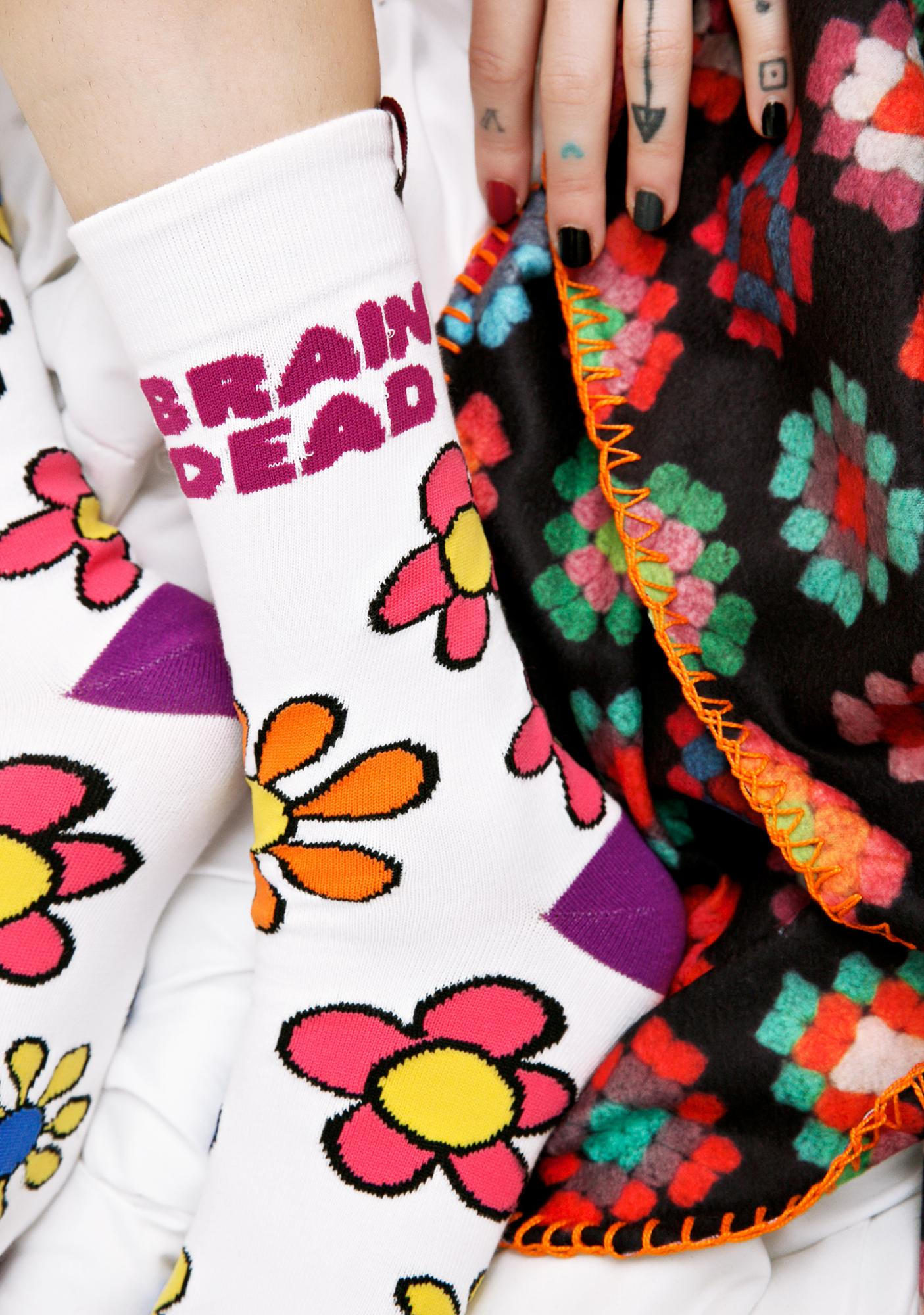 Teenage Brain Dead Socks