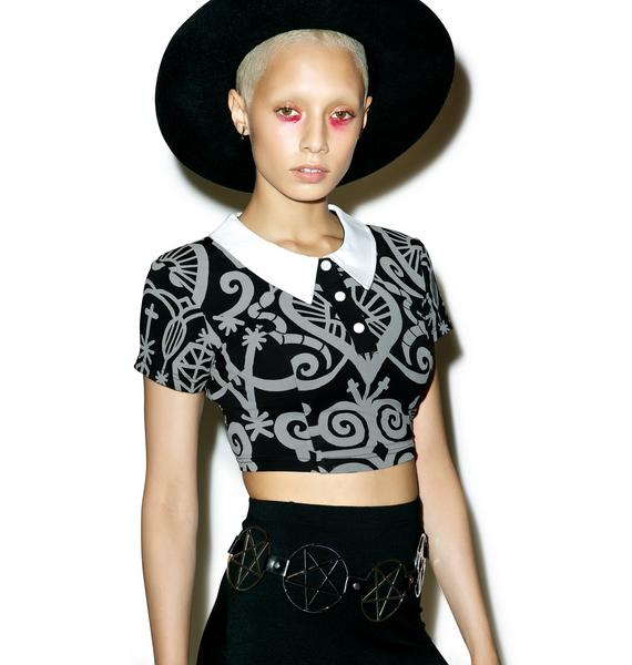Killstar Voodoo Doll Crop Top