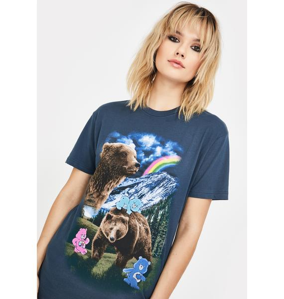 Dolls Kill x Care Bears Nothing's Impossible Graphic Tee