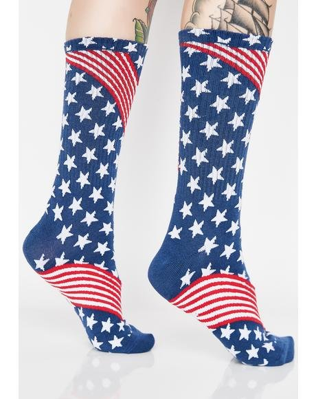 Huf USA Socks