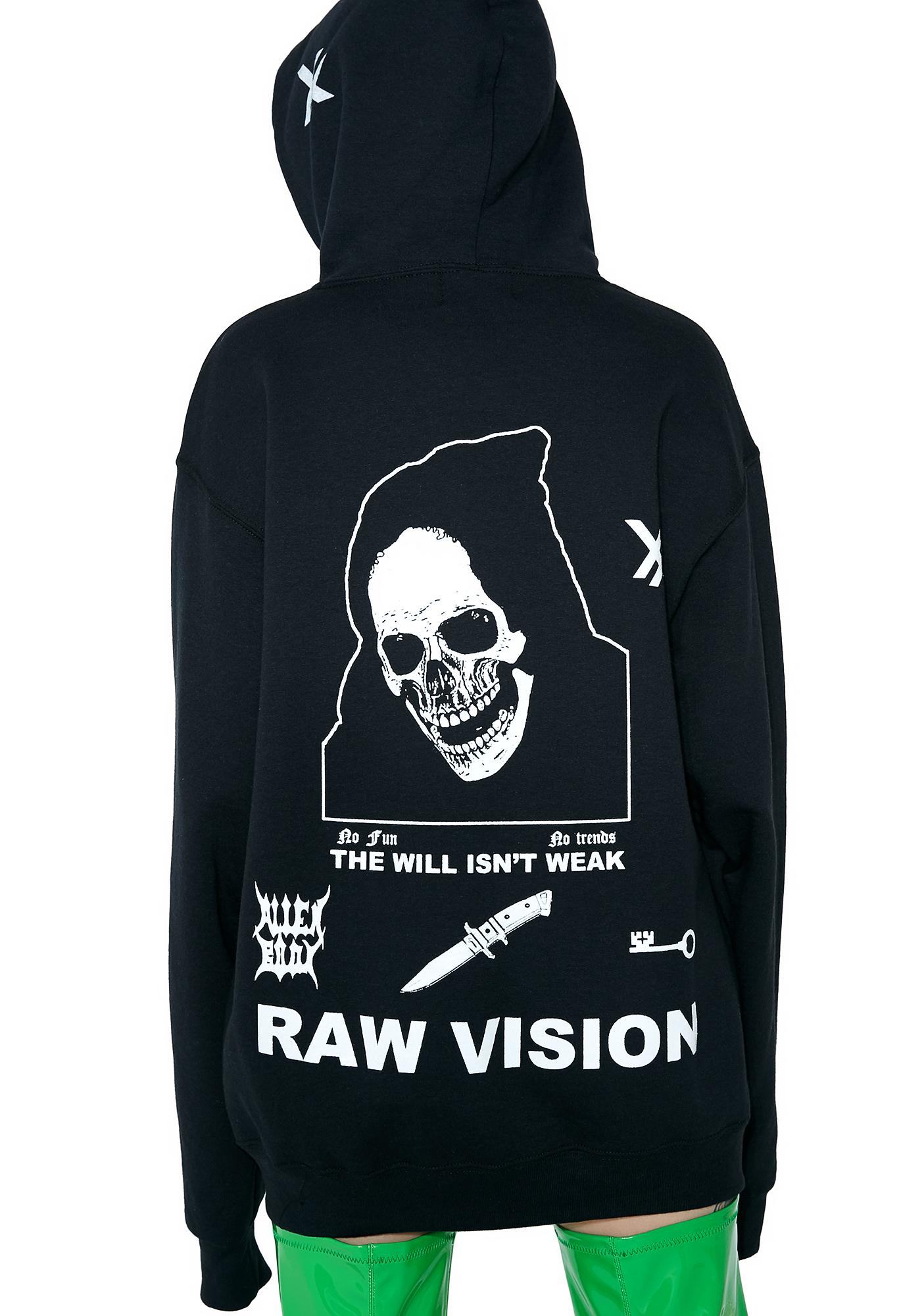 Distorted View Graphic Hoodie