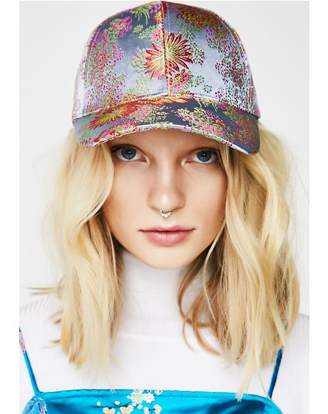 Step Up Floral Hat