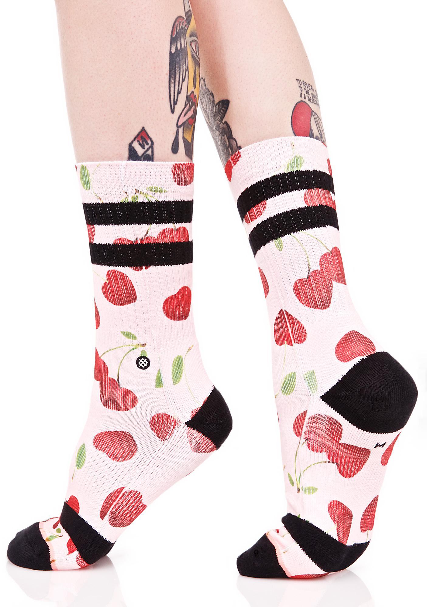 Stance Cherry Bomb Crew Sock