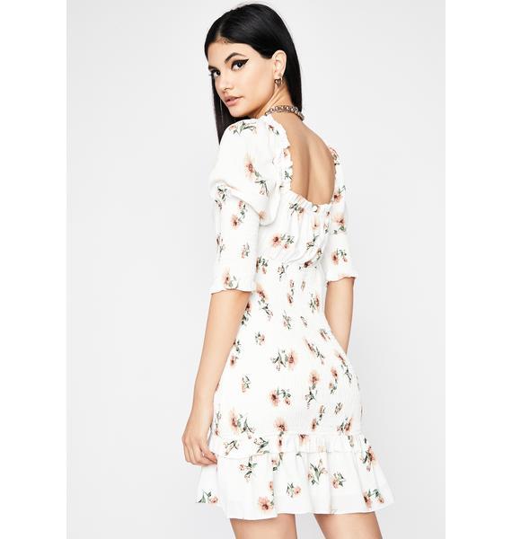 Fresh Romance Floral Dress