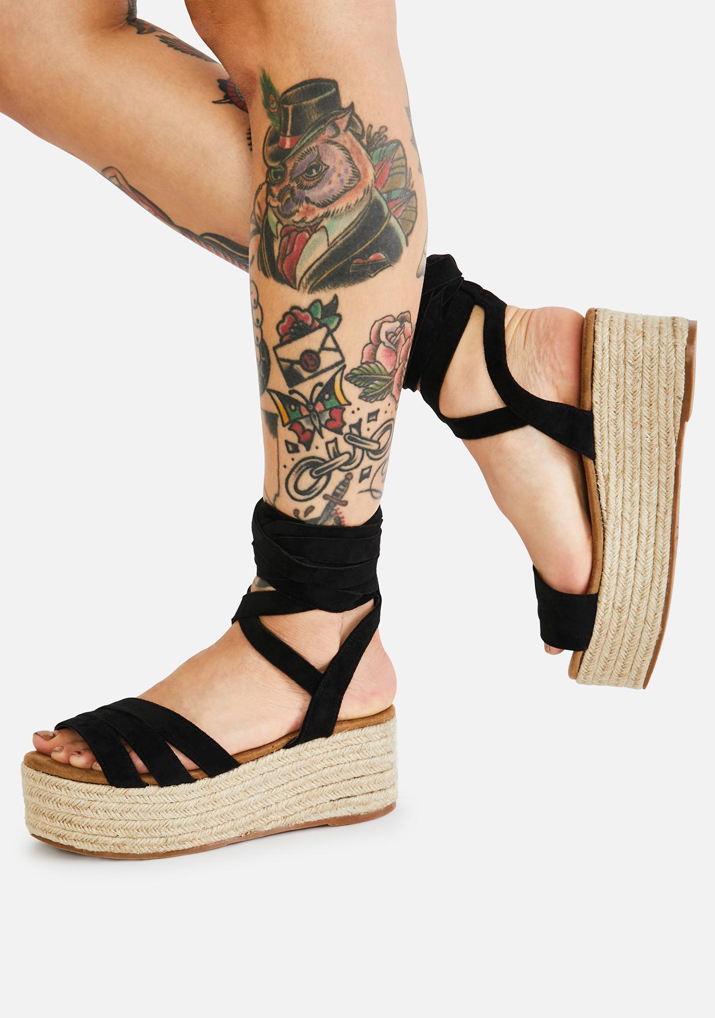 Beach Getaway Espadrille Sandals
