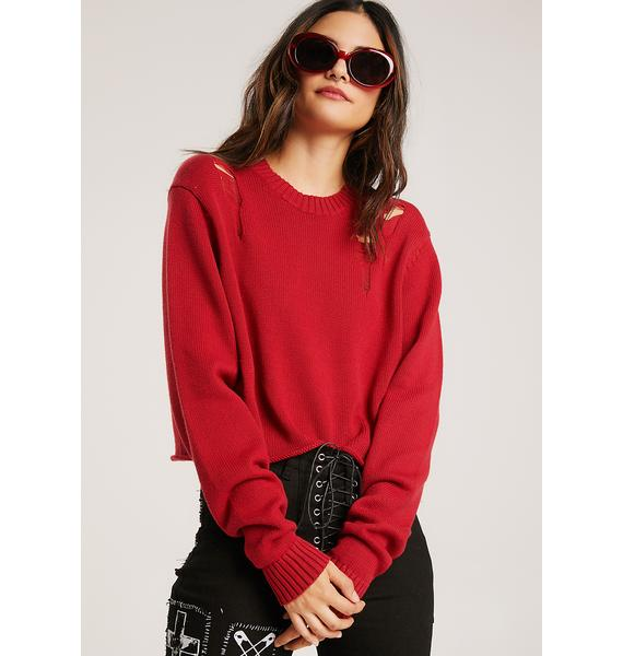 Clifford Distressed Sweater