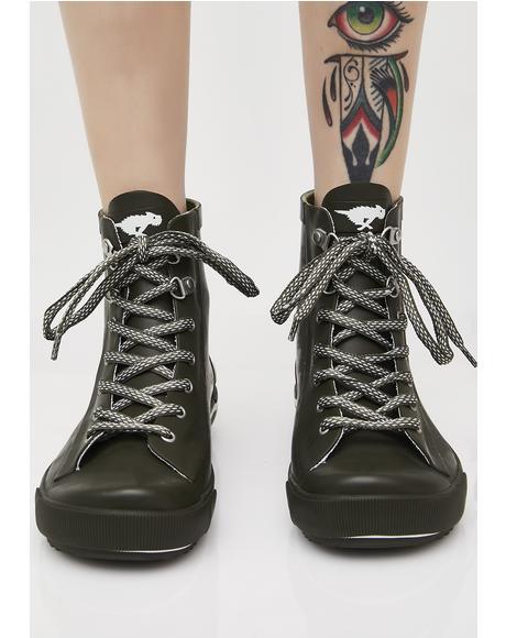 Rainy Sneaker Rain Boots