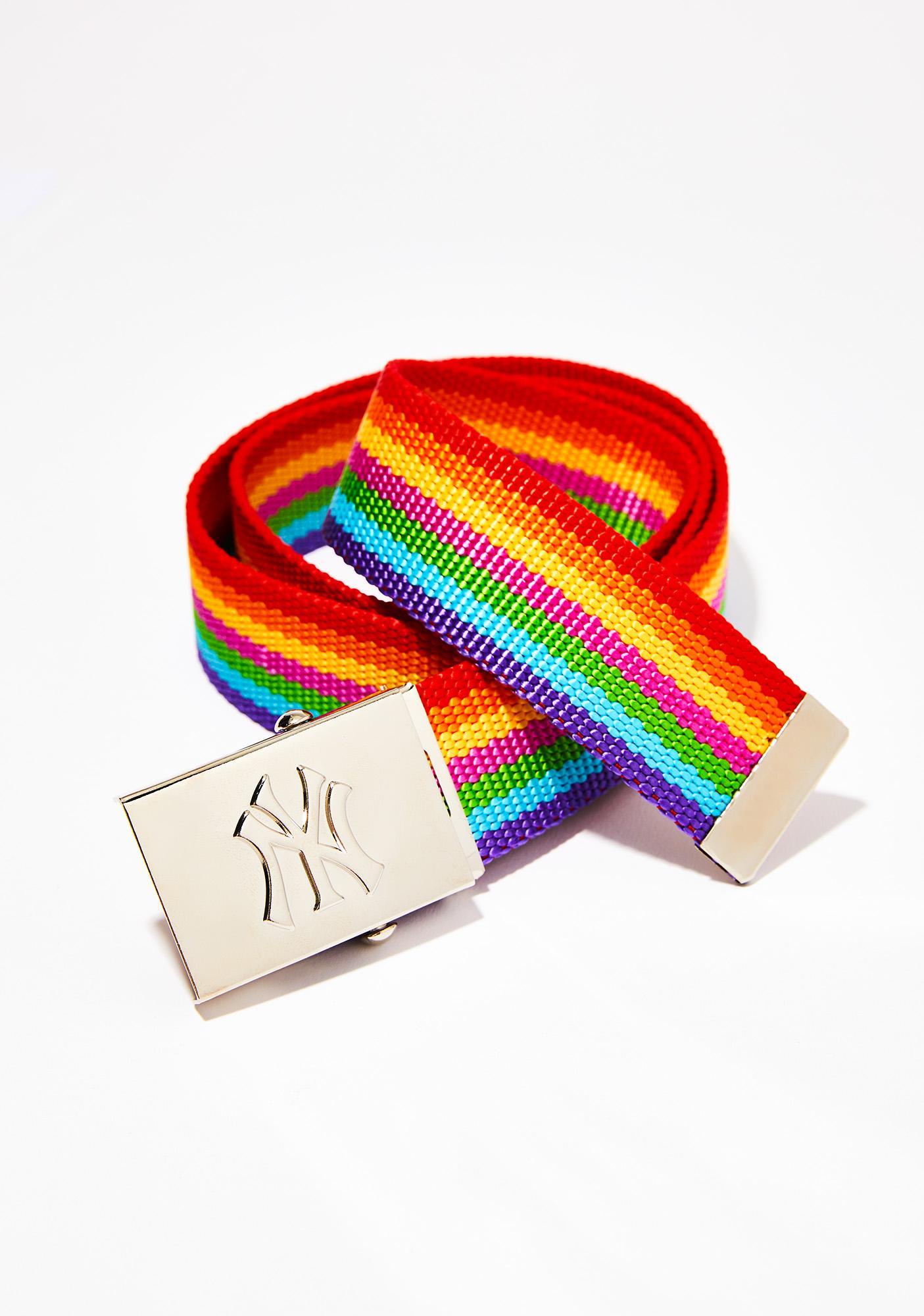 American Deadstock NY Rainbow Belt