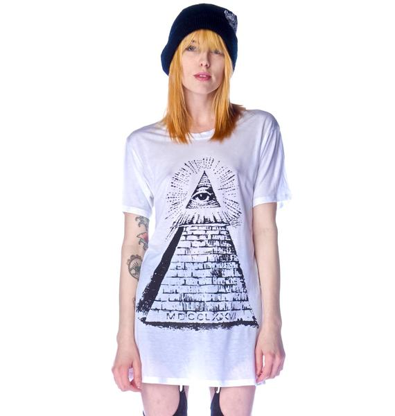 Obesity and Speed All Seeing Eye Crew Tee