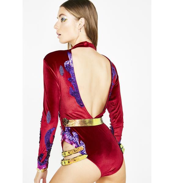 Jackalope Land Dragon Tamer Harness Bodysuit