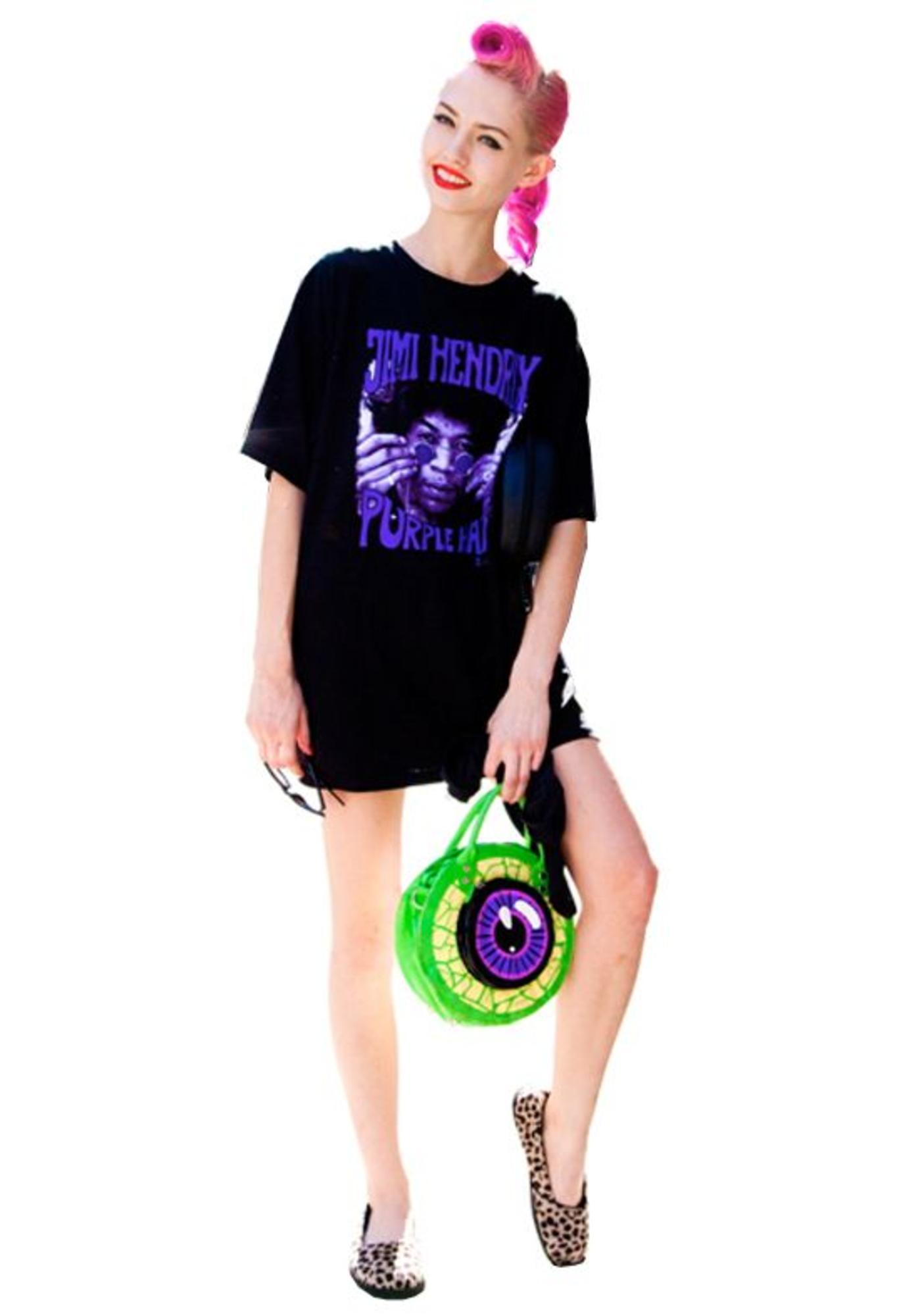 Kreepsville 666 Clear Eyeball Handbag