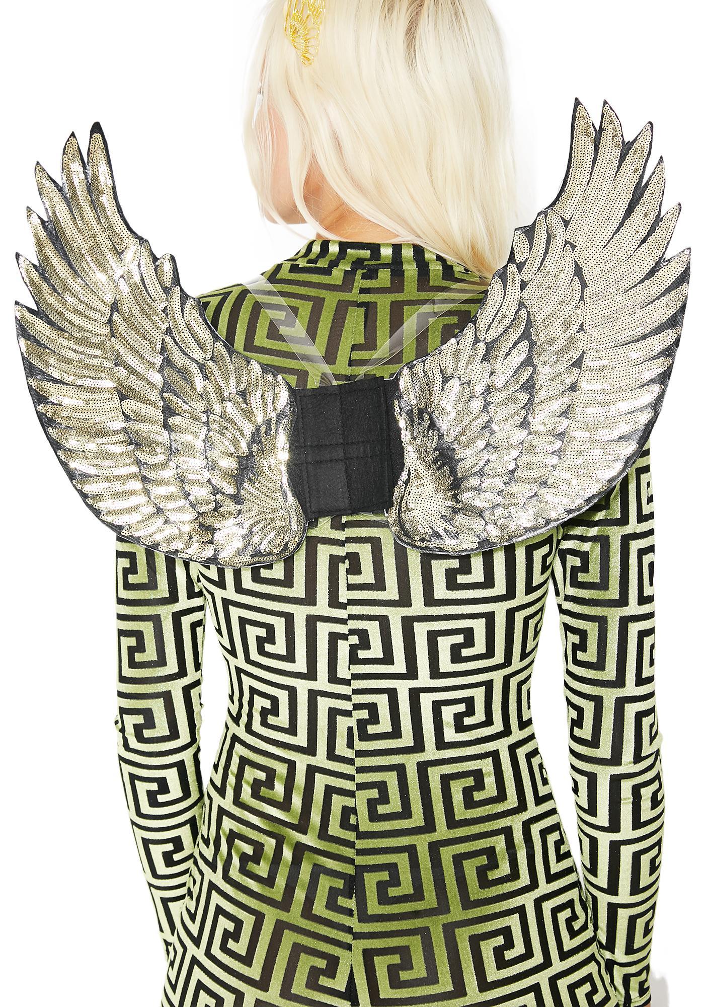 Wingin' It Sequin Wings