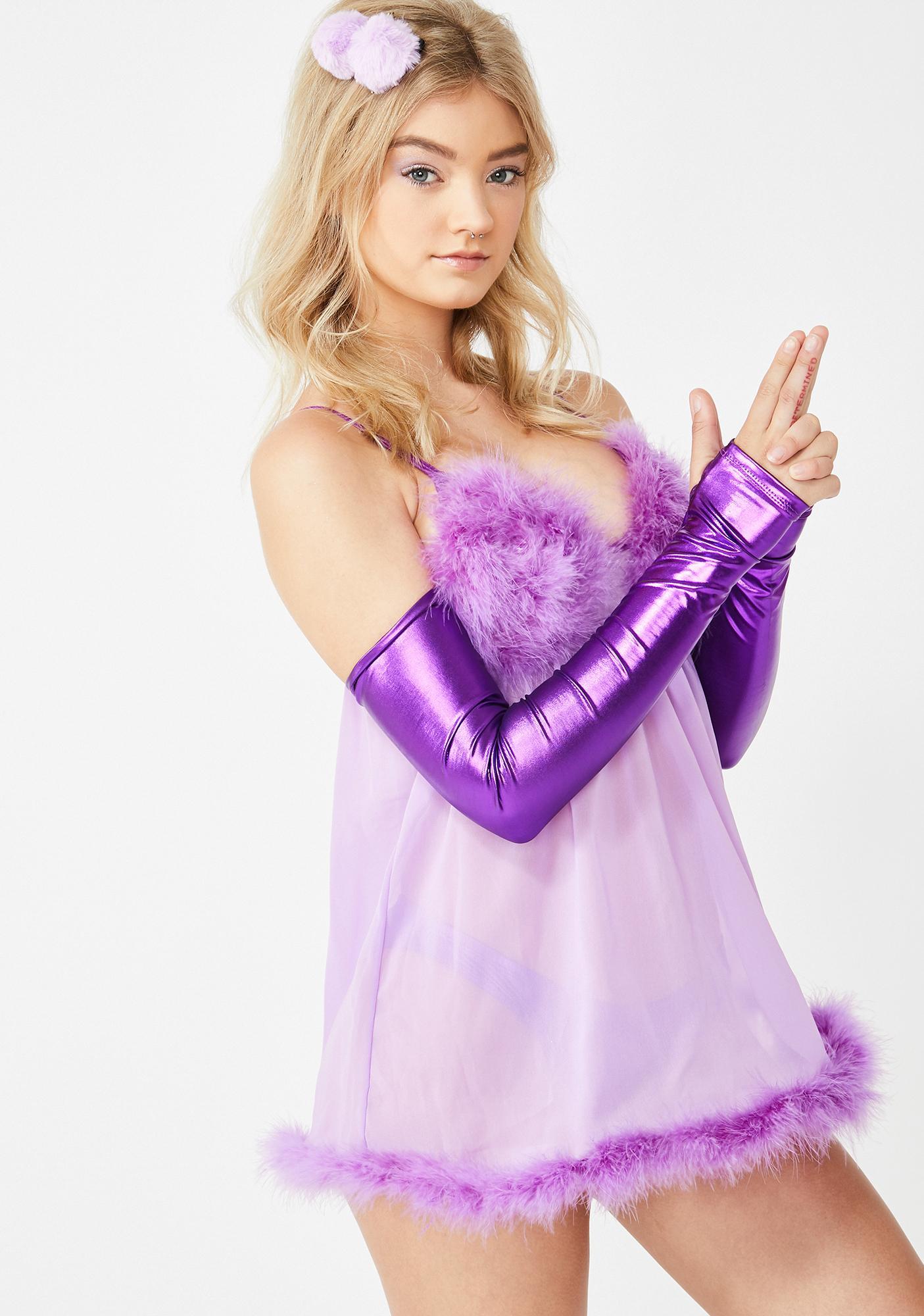 Dolls Kill Fembot Babe Costume Set