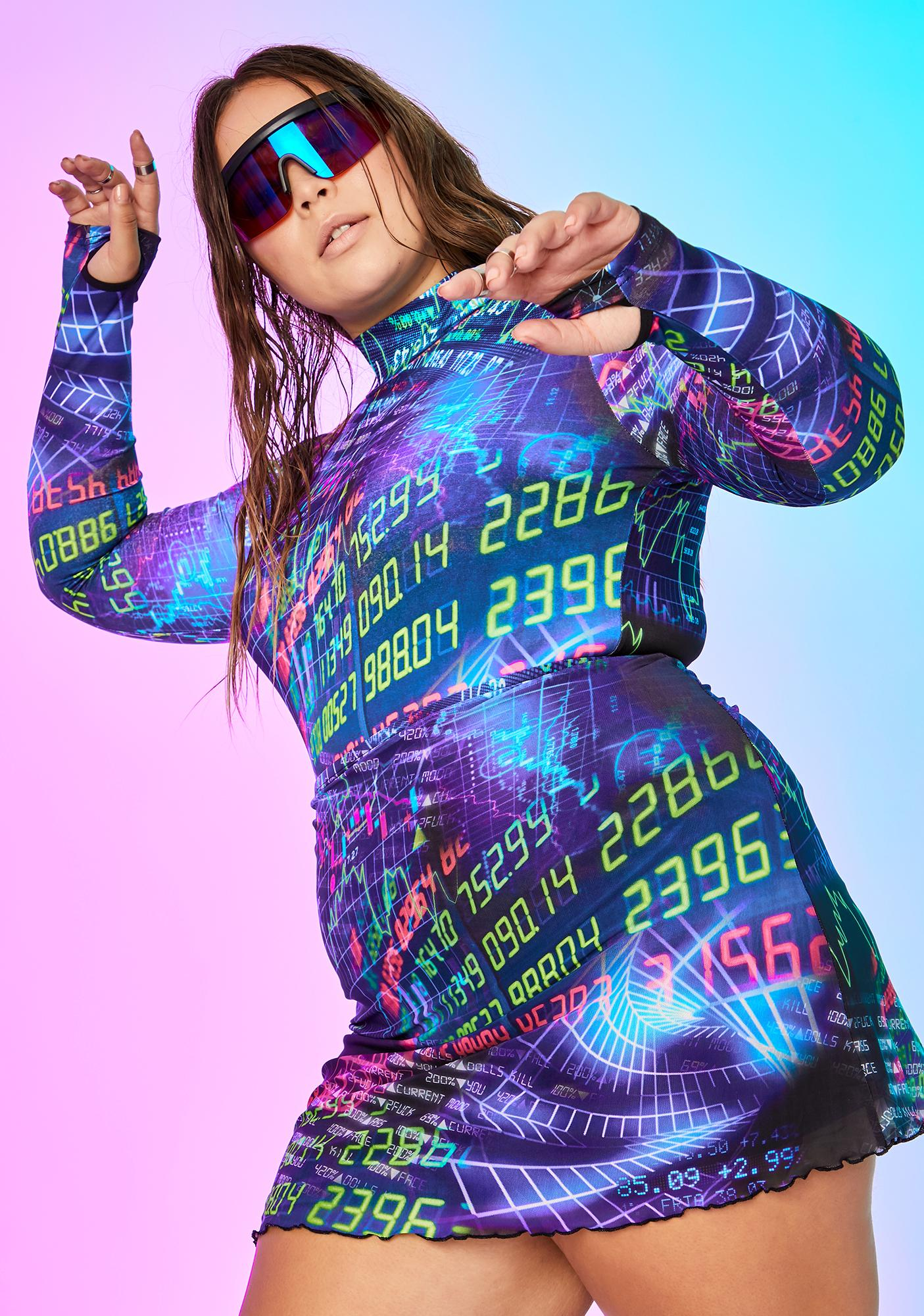 Current Mood Infinite Time Continuum Mesh Top