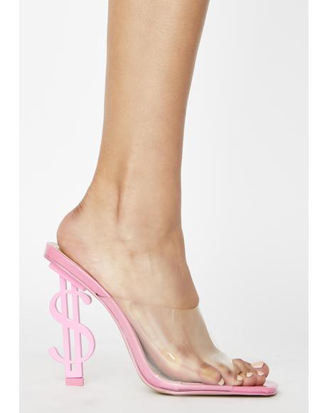 Cash Mule Heels
