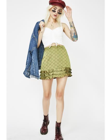 Rock My World Mini Skirt