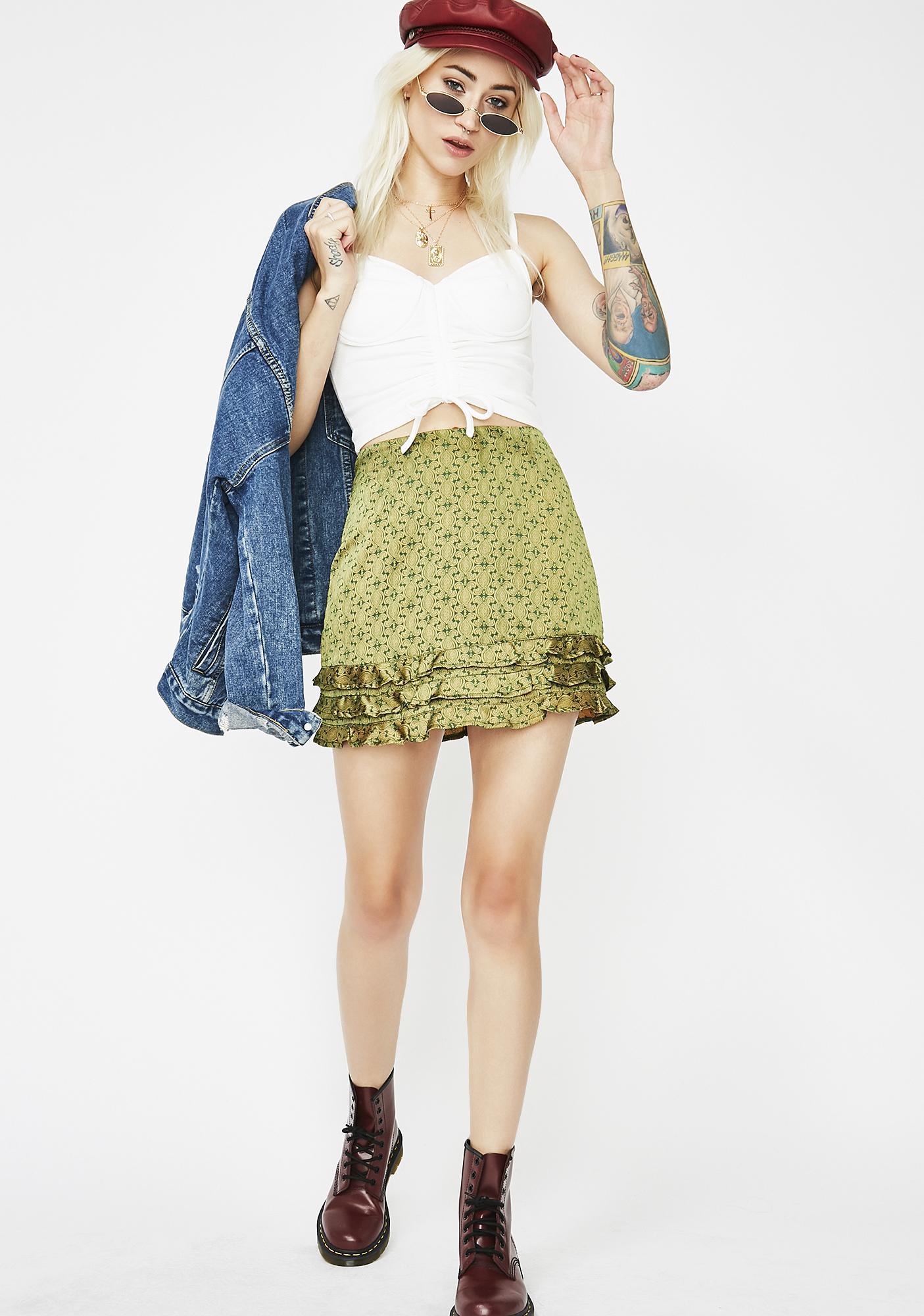 Rock My World Mini Skirt