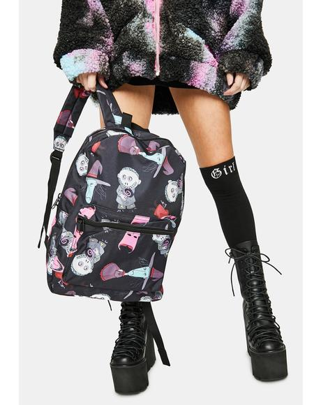 Boogie's Boys Nightmare Before Christmas Backpack
