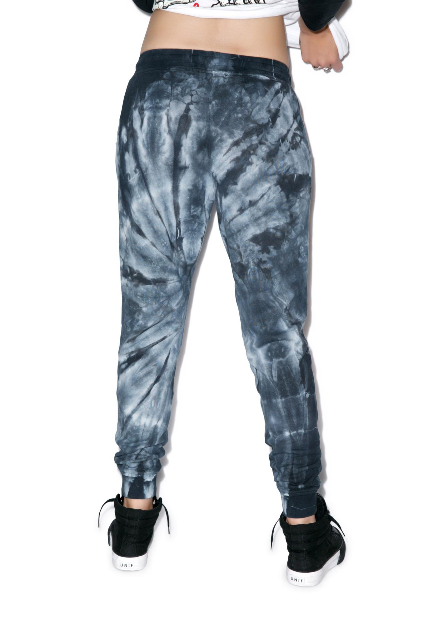 Rebel8 Logo Tie Dye Sweatpants