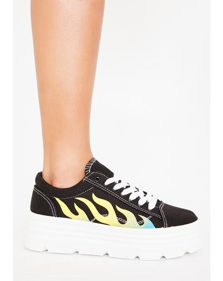 Slime The Furies Platform Sneakers