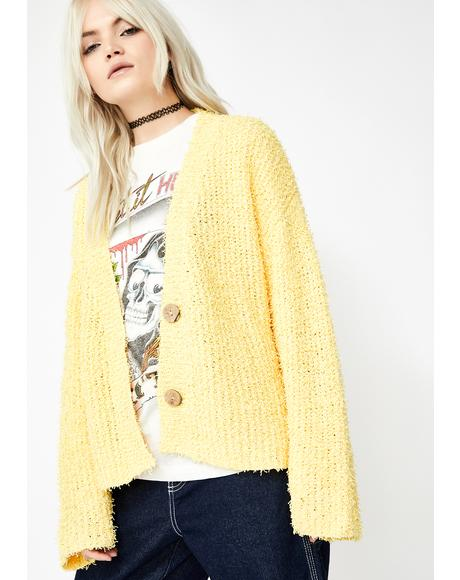 Follow Ya Dreamz Fuzzy Cardigan