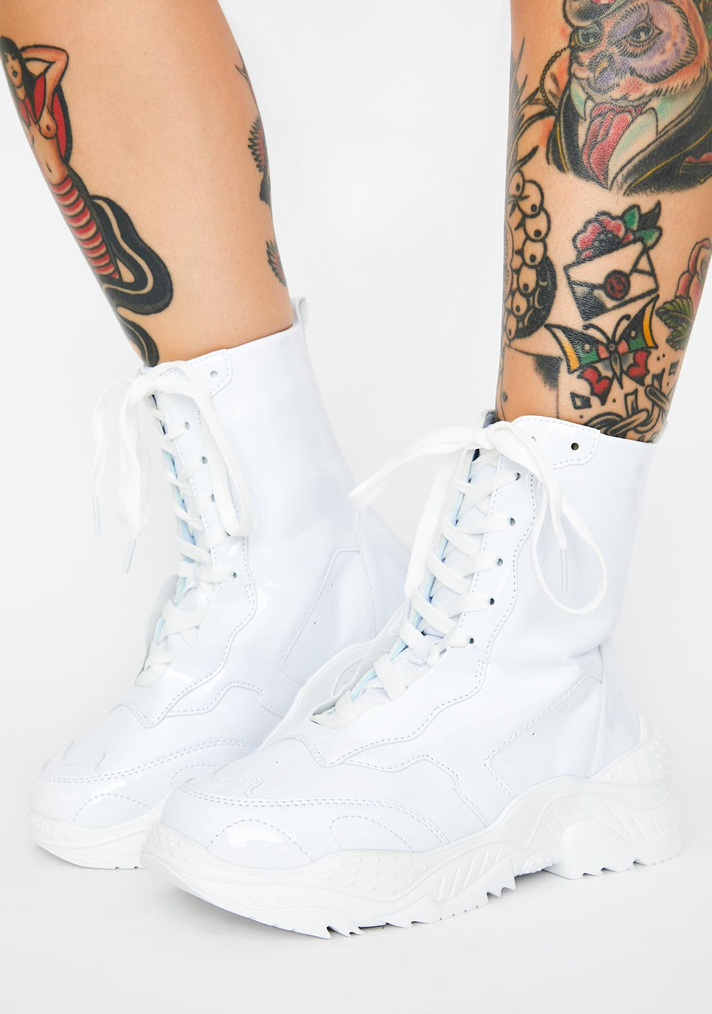 Chilling Moment's Notice Sneaker Boots