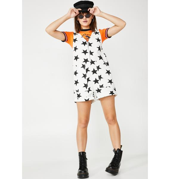 Lazy Oaf Stars In Your Eyes Romper
