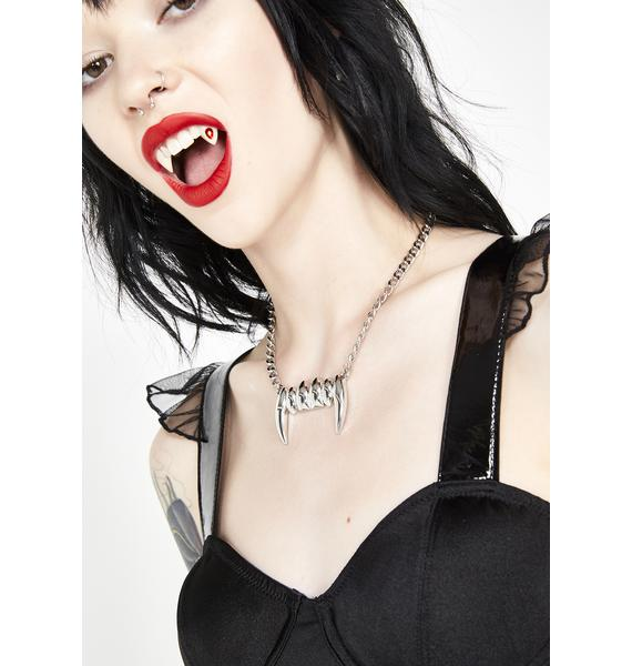 Bite Me Daddy Fang Necklace