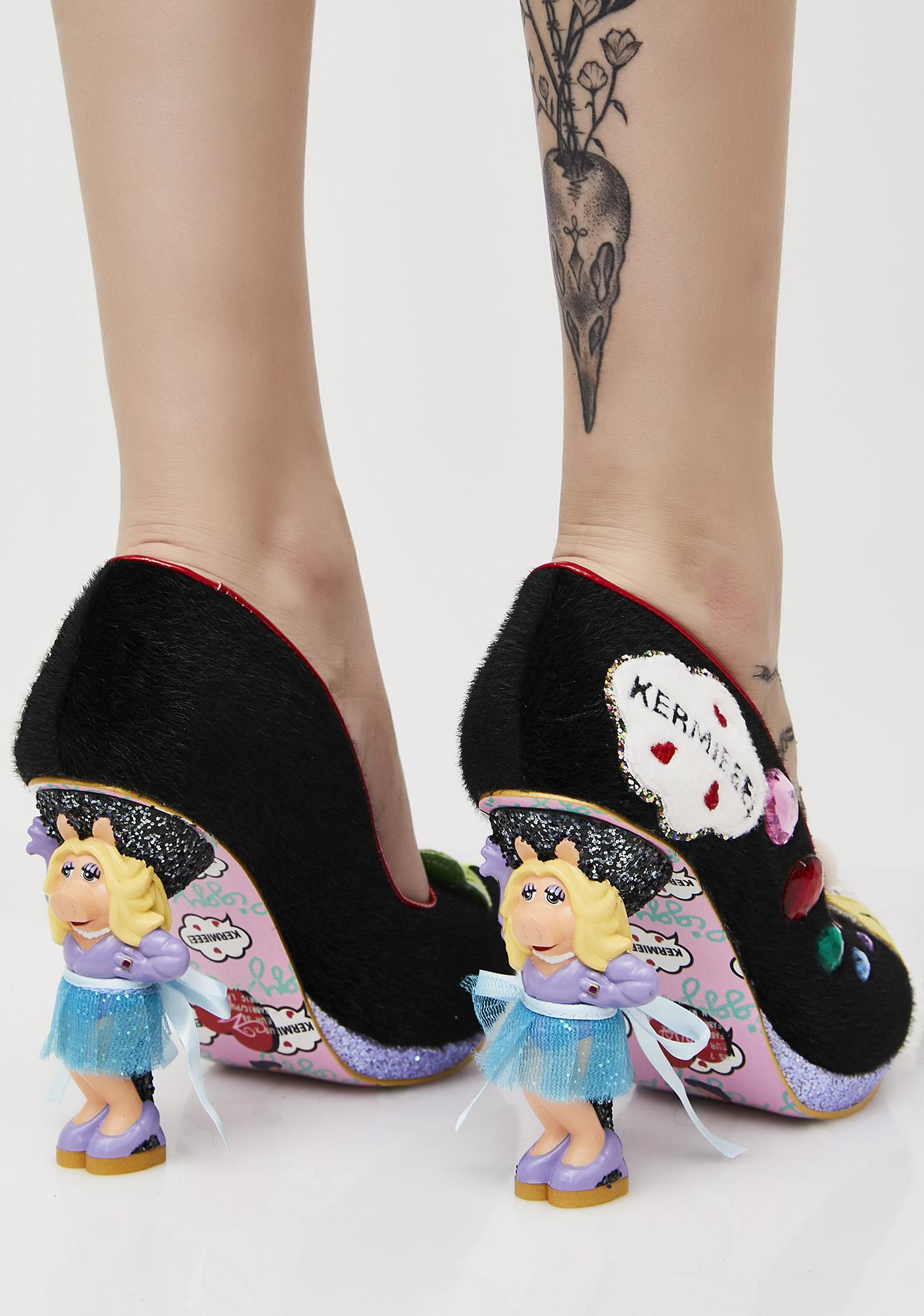 Irregular Choice Miss Piggy Interchangeable Skirts Heels