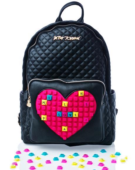 Buy A Vowel Backpack