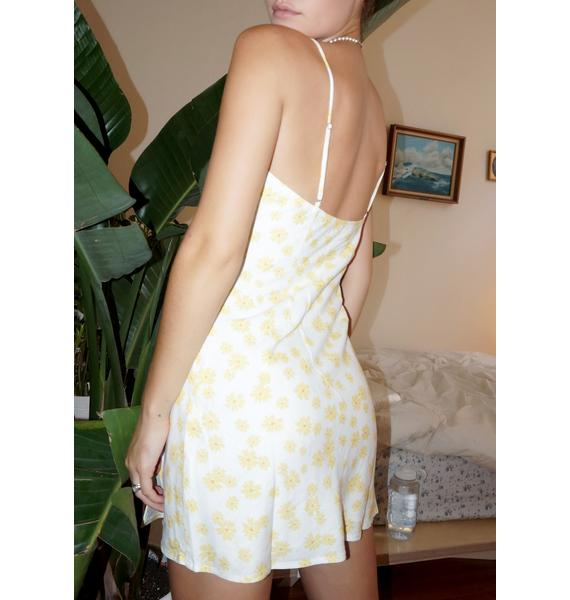 Marigold Come Around Mini Dress