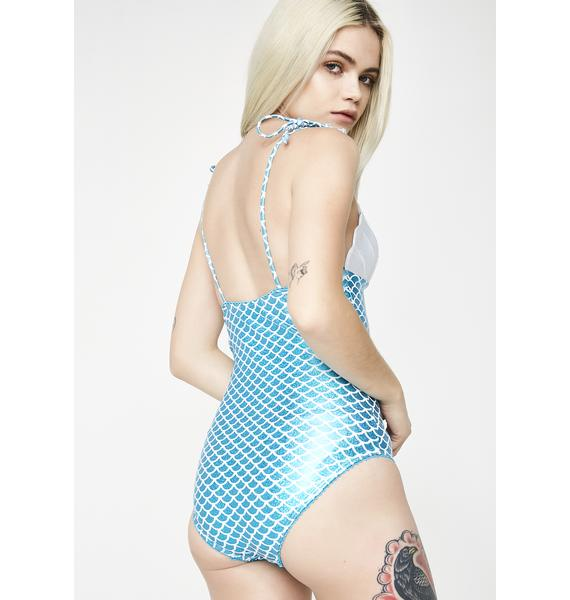 Sugar Thrillz Siren's Kiss Cutout One Piece