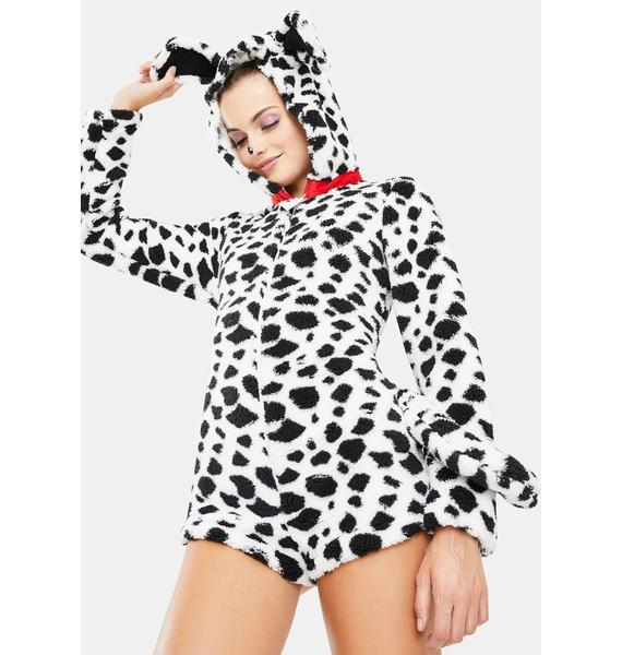 Darling Dalmatian Romper Costume