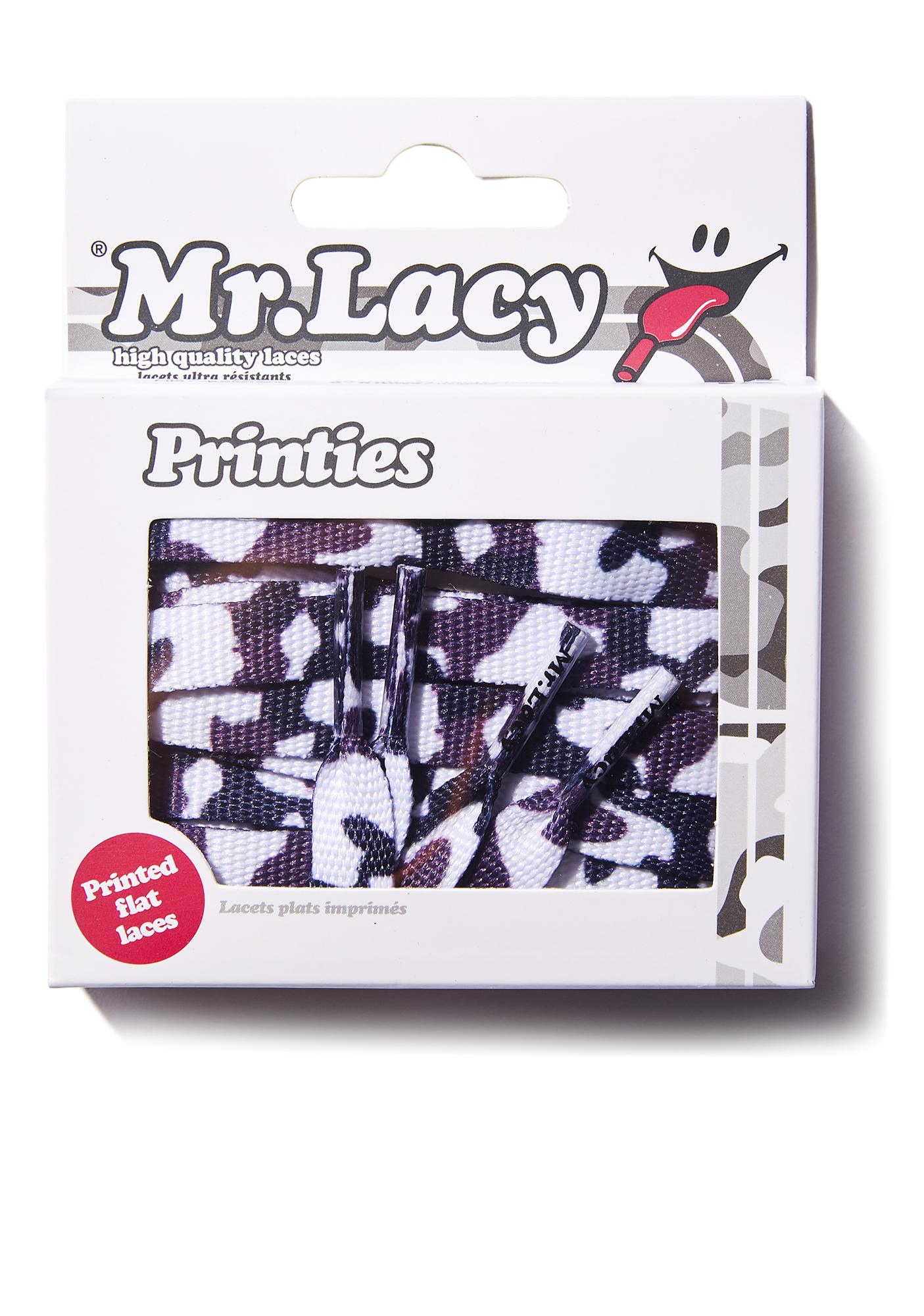 Mr. Lacy Blindsided Camo Shoelaces