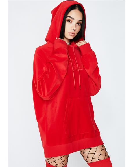 Chinese Red Kai Hoodie