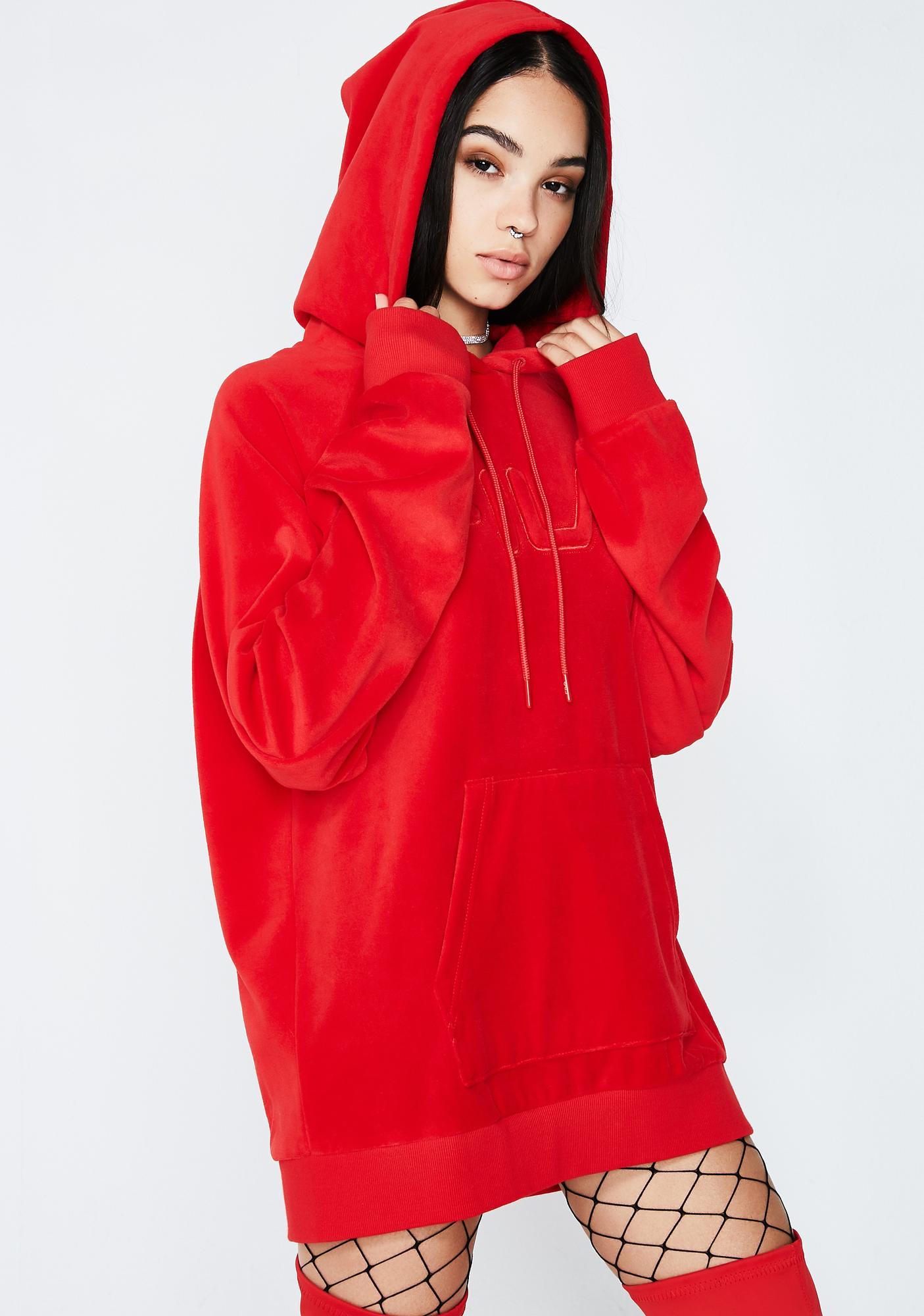 Fila Chinese Red Kai Hoodie
