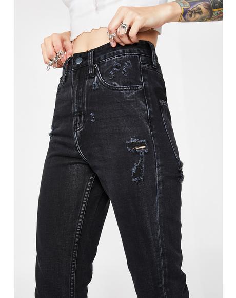 High Waist Mum Jeans