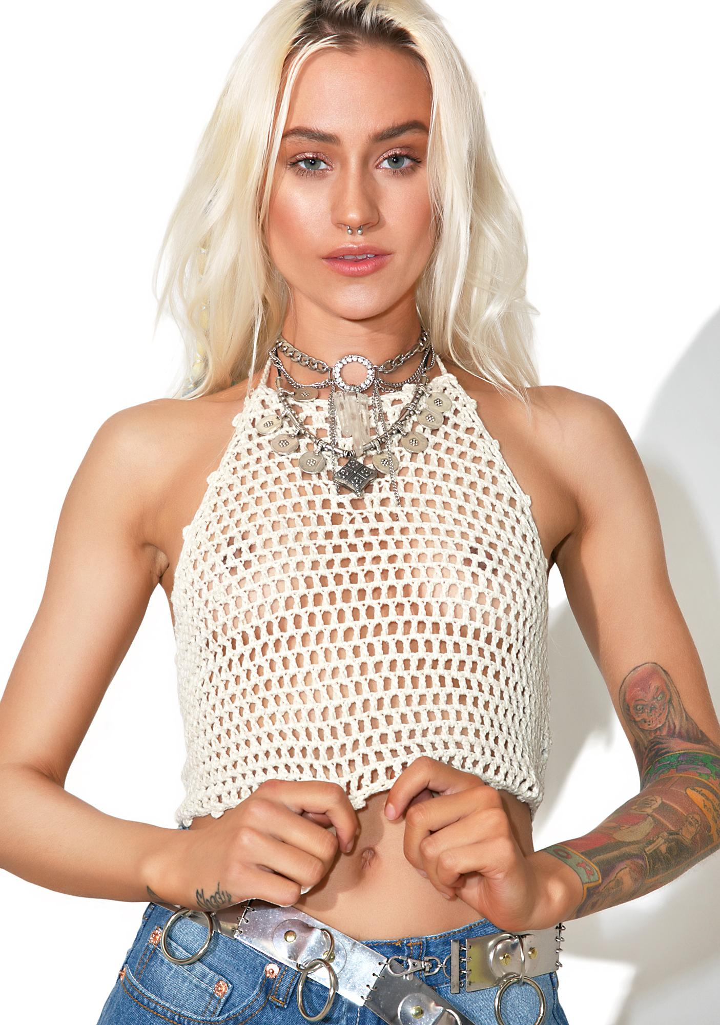Tucson Knit Crop
