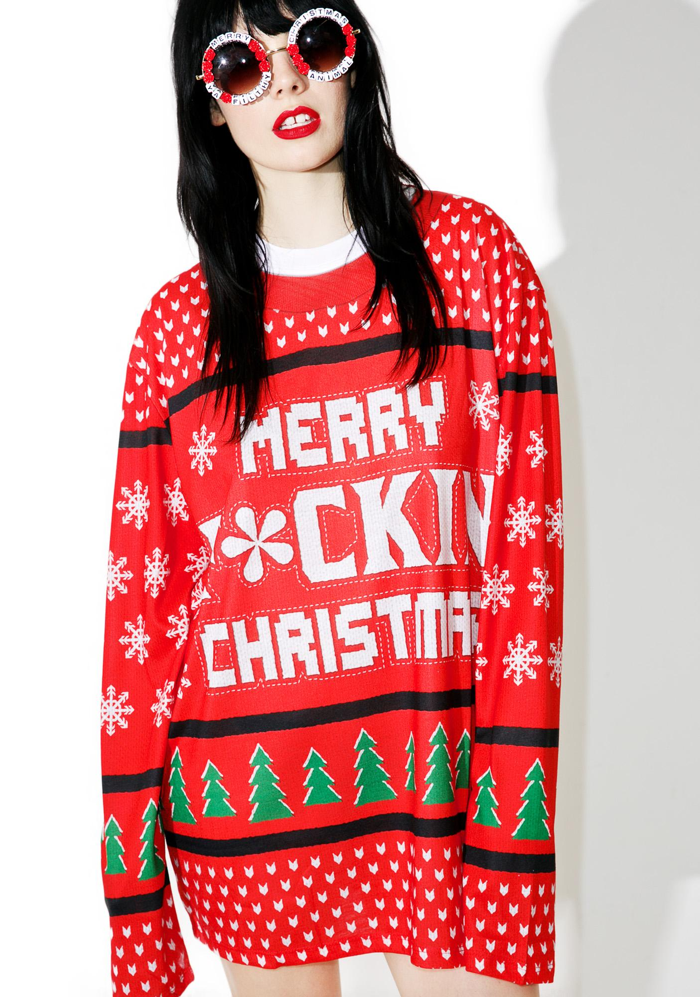Merry F*ckin' Chistmas Sweater